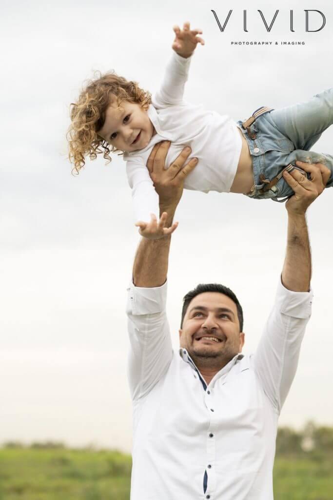family photos outdoors
